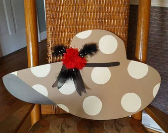 Derby hat door hanger
