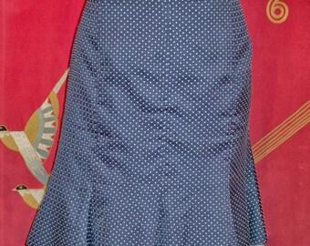 Vintage silk polka dot skirt ( Odd Molly )