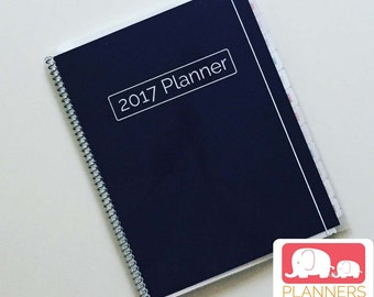 Kid Planner in Navy, Planner for Kids, Kids Scheduler, School Schedule, School Year August 2017 - July 2018