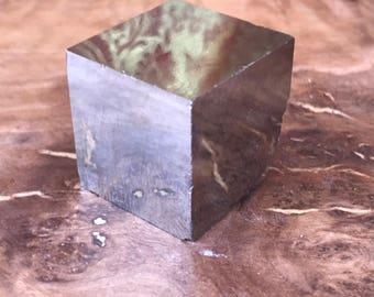 Pyrite Cube