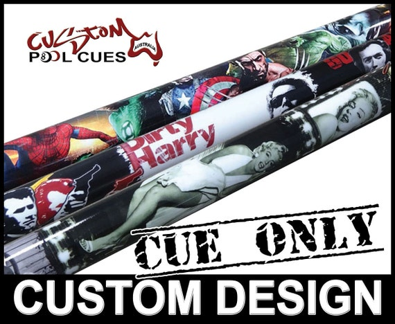 Custom design ash pool cue we will design your own one off for Pool cues design your own