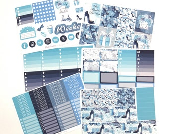 Be Fabulous Weekly Kit / Planner Stickers / Erin Condren Planner Stickers / Vertical
