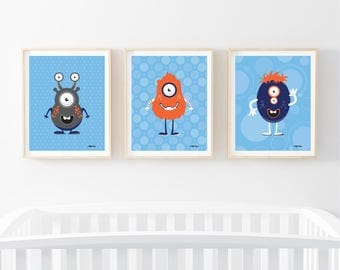 Baby Monster (Set of Three)