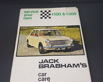 Service your own: 1100&1300 JACK BRABHAM car care cards