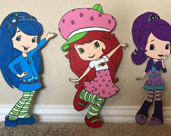 1 Strawberry Shortcake Prop/Cutout