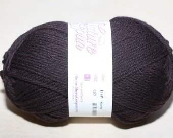 Nature Spun Worsted Weight, color 114W, lot 053   Storm