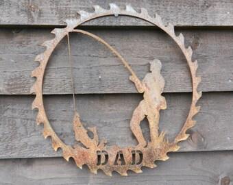 Fish Gift / Coarse Fishing Wall Art / Rusty Metal Fish Garden Decor / Fishing Gift for Dad / Fisherman Decor / Dad fish Gift /Metal Fish Art
