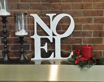 Noel Metal Wall Art