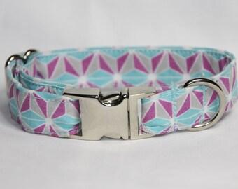 Kaleidoscope Dog Collar