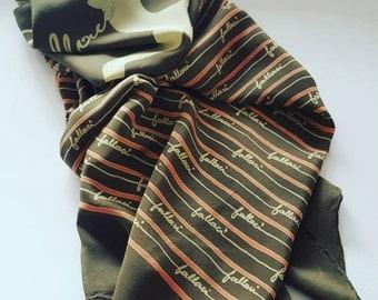 Antonio Fallaci vintage scarf