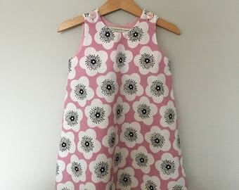 "Pink dress ""poppies"""