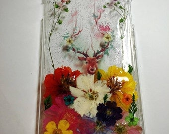 Pressed Flower Phone Case Style 3