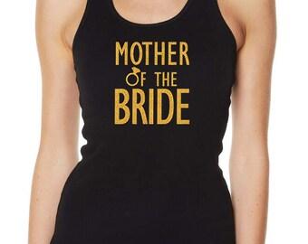 Hens Night Bachelorette Bridal Shower Glitter Iron On Transfer - Mother of the Bride
