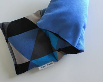 Two Toned Traingles, Large sized, rice filled Heat Pack