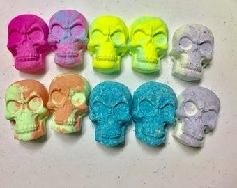 Skull mini bath bombs (10 pack)