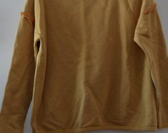 Sale $ 10!  Yellow Gold tassels 13-14 girls sweater
