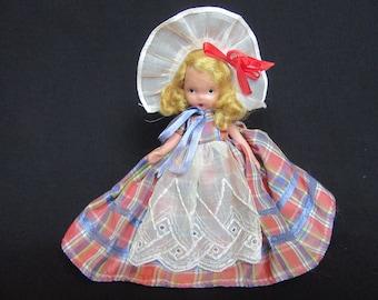 Nancy Ann Storybook Doll #58, Western Miss, Bisque Nancy Ann Storybook Doll Western Miss