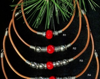 Beautiful Leather Beaded Jewelry