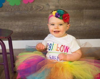 Rainbow Miracle Baby Bodysuit