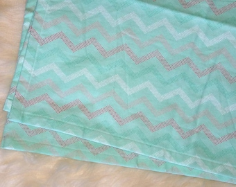 Receiving blanket, Cotton baby blanket, Swaddling blanket, Gender Neutral baby blanket