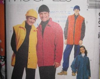 Pattern Mc Calls 8481 jacket - shirt - jacket - pants - Hat Unisex Small
