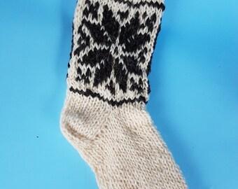 knit socks; 100% organic wool socks;  gift; men's socks; women's socks;