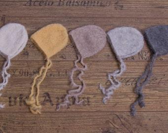 Newborn Bonnets - Different colors