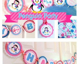 Penguin Girl Complete Party Package