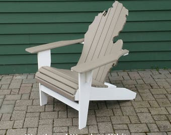 Poly Lumber Michigan Adirondack Chair