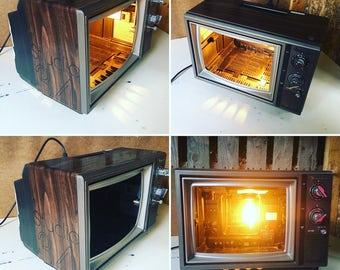 Custom TV Shell Pendant Light