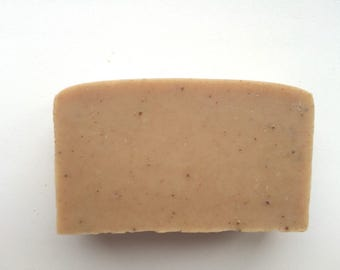 Handmade RED Clay soap with red clay and spices, natural herbal vegan organic body soap bar with essential oils