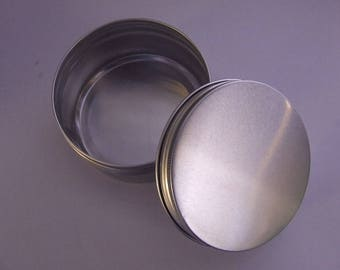 Empty Aluminium Jar - With Screw Lid **200g**