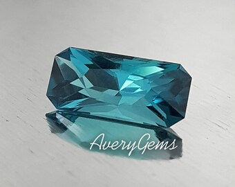 Tourmaline Indicolite 2.3 Ct Rare Loose Gemstone Natural Ror Engagement Ring Tourmaline Ring Precious Gemstone Precision Cut By AveryGems