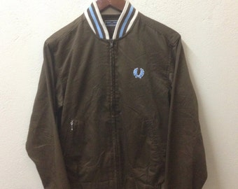 Fred Perry Jacket Sportwear Casual Mood