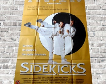 "1992 Chuck Norris poster cinema ""sidekicks"""