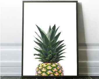 Pineapple Prints, Kitchen Prints, Beach house Decor, Tropical Wall Prints, Instant Digital Pineapple, Digital Pineapple Art, Pineapple photo