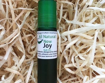 Joy Essential Oil Blend/100% Pure & Therapeutic Essential Oils/Roll-On