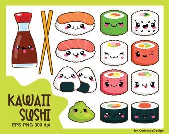30% OFF, Kawaii clip art, kawaii sushi clip art, kawaii sushi clipart, cute sushi clip art, sushi clip art, sushi clipart, kawaii clipart