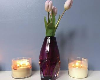 Crystalline Vase - Amethyst