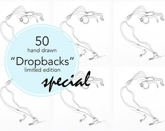 Yoga Art - Limited Edition - 50 Dropbacks