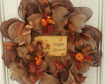 Thanksgiving Wreath  (Large)