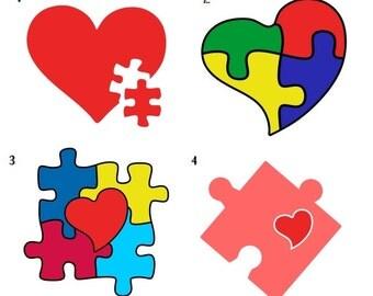 Autism Awareness decal, Autism support decal, custom coffee sticker, Car, Yeti/tumbler,Laptop,iPad or Tablet Vinyl Decal Custom Teacher gift