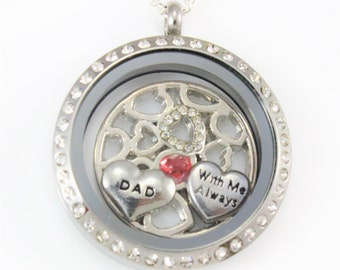 Memorial Jewelry Dad, In Memory of Dad, Daddy is My Guardian Angel, Sympathy Gift Father, Guardian Angel Dad, Remembrance Necklace Dad,