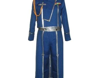 FullMetal Alchemist Roy Mustang Cosplay Costumes