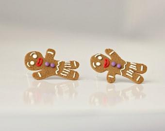 Gingerbread Man (Shrek) - new handmade lightweight earrings