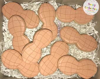 Peanut Cookies  - 1 Dozen (12 Cookies)