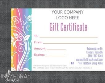 LLR Gift Certificate | LuLa Gift Certificate | Gift Card | Floral |  LLR Retailer | Direct Sales