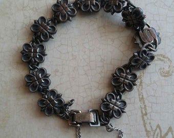 Vintage Butterfly Bracelet, Antique Jewelry