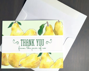 Thank You Card, Pears
