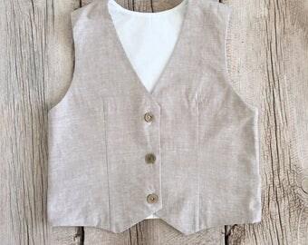 Childrens Vest, Size 6 Month- 8/10 Kids~ Photography Prop